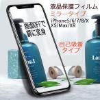 iPhone5s 6s 6Plus 7 7Plus 8 8Plus 液晶保護フィルム 保護シート 鏡面 ミラータイプ ELUK スクリーンプロテクター