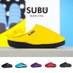 Sandals - SUBU スブ 冬のサンダル 起毛 サンダル スリッパ ダウン風 防寒 ルームシューズ 外履き シューズ メンズ レディース
