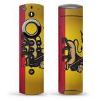 Fire TV Stick 第2世代 ファイヤー tv スティック リモコン専用スキンシール  国旗 ライオン 王冠 010867