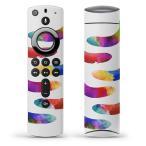 Fire TV Stick 第2世代 ファイヤー tv スティック リモコン専用スキンシール  バナナ シルエット カラフル 014807