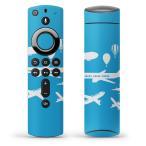 Fire TV Stick 第2世代 ファイヤー tv スティック リモコン専用スキンシール  飛行機 乗り物 014997