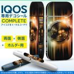 iQOS アイコス 専用スキンシール 裏表2枚 側面 ホルダー フルセット 両面 サイド ボタン キラキラ ピンク オレンジ 青 005201