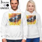 パーカー 男女 メンズ レディース ホワイト グレー ブラック デザイン parker hooded sweatshirt  ひまわり サングラス 000940