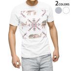 tシャツ メンズ 半袖 ホワイト グレー デザイン XS S M L XL 2XL Tシャツ ティーシャツ T shirt  ゾウ 動物 模様 011770
