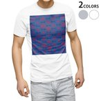 tシャツ メンズ 半袖 ホワイト グレー デザイン XS S M L XL 2XL Tシャツ ティーシャツ T shirt  和風 和柄 青 011843