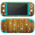igsticker Nintendo Switch Lite 専用 デザインスキンシール 全面 任天堂 専用 ニンテンドー スイッチ ライト  キラキラ ゴールド 金 004495