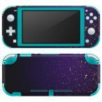 igsticker Nintendo Switch Lite 専用 デザインスキンシール 全面 任天堂 専用 ニンテンドー スイッチ ライト  ゴールド 紺 シンプル 004740