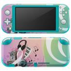 igsticker Nintendo Switch Lite 専用 デザインスキンシール 全面 任天堂 専用 ニンテンドー スイッチ ライト  音楽 ピアノ 楽器 005241
