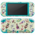 igsticker Nintendo Switch Lite 専用 デザインスキンシール 全面 任天堂 専用 ニンテンドー スイッチ ライト  アリス イラスト 006697