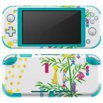igsticker Nintendo Switch Lite 専用 デザインスキンシール 全面 任天堂 専用 ニンテンドー スイッチ ライト  七夕 イベント 星 013355