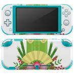 igsticker Nintendo Switch Lite 専用 デザインスキンシール 全面 任天堂 専用 ニンテンドー スイッチ ライト  お正月 門松 梅 013575