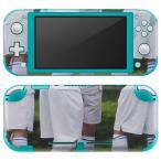 igsticker Nintendo Switch Lite 専用 デザインスキンシール 全面 任天堂 専用 ニンテンドー スイッチ ライト  野球 運動  014843