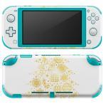 igsticker Nintendo Switch Lite 専用 デザインスキンシール 全面 任天堂 専用 ニンテンドー スイッチ ライト  ゴールド ツリー クリスマス  015608