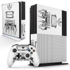 「宅配便専用」igsticker Xbox One S 専用 デザインスキンシール エックスボックス 本体裏表用 コントローラー用  おしゃれ メイク ファッション 014074