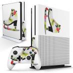 「宅配便専用」igsticker Xbox One S 専用 デザインスキンシール エックスボックス 本体裏表用 コントローラー用  ファッション おしゃれ 靴 014525