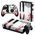 「宅配便専用」igsticker Xbox One X 専用 デザインスキンシール エックスボックス ワン ステッカー 保護  ファッション おしゃれ 靴 014324