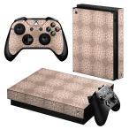 「宅配便専用」igsticker Xbox One X 専用 デザインスキンシール エックスボックス ワン ステッカー 保護  模様 おしゃれ 014406