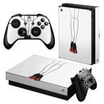 「宅配便専用」igsticker Xbox One X 専用 デザインスキンシール エックスボックス ワン ステッカー 保護  ファッション おしゃれ 靴 014455