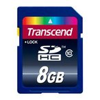 【DM便送料無料】 トランセンド TS8GSDHC10 SDHCカード 8GB Class10 〔国内正規品 無期限保証〕