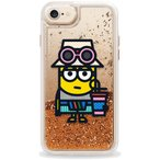 Casetify CTF-4551575-378600 MinionGlitter Gold〔iPhone 7/6s/6用〕