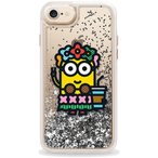 Casetify CTF-4551591-378601 MinionGlitter Silver〔iPhone 7/6s/6用〕