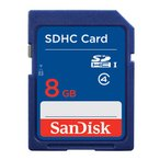 【DM便送料無料】 サンディスク スタンダード SDHCカード CLASS4 8GB 〔SDSDB-008G-J01〕〔国内正規品〕