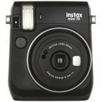 【あすつく】 フジフイルム インスタントカメラ instax mini 70 「チェキ」 ブラック