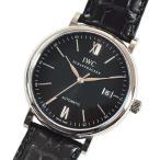 【あすつく】 アイダブリューシー(IWC) ポートフィノ・オートマティック 〔ブラック メンズ〕 IW356502 [新品] [腕時計] [並行輸入]