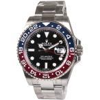 【あすつく】 【36回無金利】 ロレックス メンズ腕時計 GMTマスターII 116719BLRO