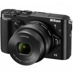 ニコン Nikon 1 V3 標準パワーズームレンズキット ブラック 《納期約2−3週間》