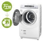 シャープ プラズマクラスター ドラム式洗濯乾燥機 ES-ZH1-WL [左開き]