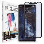 iPhone 11 / iPhone XR ブラックフレーム ブルーライトカット ガラスフィルム 全面保護 強化ガラス 保護フィルム フィルム BLBK 定形外
