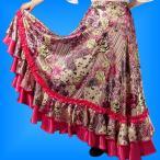 フラメンコ衣装 スカート 85cm丈 1256