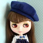カラーベレー帽[ネイビー] ネオブライスサイズアウトフィットT036
