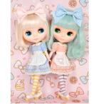 限定ブライスxキティコラボ ドリーウェア Sweet cake Hello Kitty【ピンク】Junie Moon