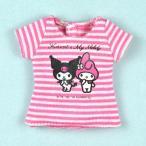 Dear Darling fashion for dolls サンリオキャラクターコラボTシャツ「マイメロディ&クロミ」カットソー1/6 ネオブライス アウトフィット アゾン
