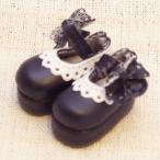 レースおでこ靴 ブラック 1/6ネオブライスサイズアウトフィット