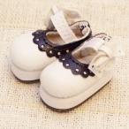 レースおでこ靴 ホワイト 1/6ネオブライスサイズアウトフィット