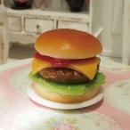 チーズバーガー 1/6ミニチュアフード食品サンプル ブライス アゾン ドールハウス