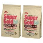 [送料無料]2個セット スーパーゴールド チキンプラス子犬用 腸内フローラバランスサポートフード2.4kg