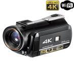 4Kデジタルビデオカメラ タッチパネル液晶搭載 ナイト