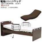 電動ベッド高機能  電動リクライニングベッド 1モーター(hmfb-8201jns)ds321-1