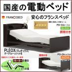 国産フランスベッドの電動セミダブルベッド(2モーター