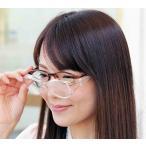 日本製 ズームシニアグラス メガネ型 拡大鏡 職人 シニア 読書 手芸 趣味 釣り 新聞 ルーペ 拡大 めがね 眼鏡 品質 日本製