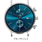 Yahoo!腕時計ベルトの専門店 EMPIRE腕時計 メンズ 41mmケース クロノグラフ 着せかえられる全く新しい腕時計 シチズン日本製ムーブ搭載 自分好みのスタイリングが楽しめる (ベルト別売り)