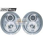 【M's】R50 R52 R53 BMW ミニ(-2006y)ZONE Racing製 LEDデーライトルック プロジェクター ハロゲン ヘッドライト 左右//291351 1.4L 1.6L R16 新品