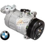 【M's】E46 BMW 3シリーズ(直4)BEHR製 エアコン コンプレッサー//純正OEM 316Ci 316i 316ti 318Ci 318i 318ti 6450-9182-795 6452-9175-669