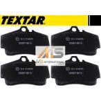 【M's】ポルシェ 911 996 997/TEXTAR製 リア用 ブレーキパッド(左右)//純正OEM テクスター リアブレーキパット