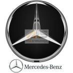 【M's】ベンツ AMG 純正品 ホイールセンターキャップ 1個 ブラック/クローム(直径:74mm)//正規品 光沢 ホイールハブキャップ