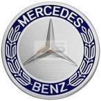 【M's】ベンツ AMG 純正品 ホイールセンターキャップ 1個(ブルー/青)74mm//正規品 ホイールハブキャップ B6-6470-210 171-400-0125-5337